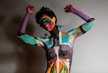 Women's Empowerment Project at NewYork-Presbyterian Weill Cornell Breast Center / Photos by Casey Fatchett Photography - Body Art by Ralph Serrano with Arte o Muerte