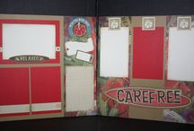 Templates for scrapbooking pages