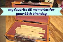 65th Bday Ideas  / by Dawn Porter