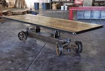 Industrial Loft Rustic Driftwood Vintage