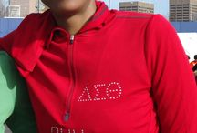 Delta Sigma Theta Sorority Bling / Delta Sigma Theta Sorority Accessories and Apparel made with Swarovski Crystals. / by Attorney Wright, LLC