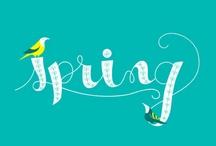 | t h i n k S p r i n g | / ❀ spring mood board / (Ambiance, humeur et envie de printemps !)  / by lesMoutaines Bêêêêê