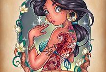 Tattooed Princesses