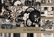 {Romantique}Kit, Extras and Layouts