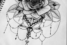 Тату розы / Tattoo rose