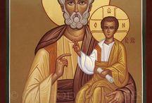 Iconos de  santos