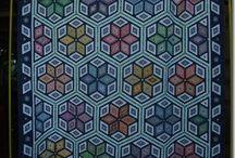 Hexagon super quilt