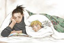 Iruka x Naruto