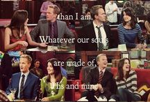 Barney and Robin / Because I refuse to believe they only lasted 3 years, shove the blue French horn.  The Final Play and the Canadian engagement party were the most beautiful HIMYM moments ever.  I went down with this SHIP.