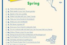 Springtime Fun / Get ready for spring with these tasty treats, fun activities and simple DIY projects for the whole family!