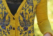 свитер, кардиган