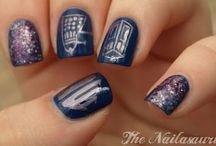 Nailspirations - Dr Who