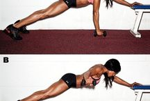 Plank  / Best plank exercises. Let's train together!