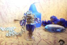 Mini bottles / Mini bottles of different styles: nature, magic, animals...