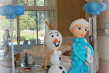 Frozen Birthday Party / Frozen themed party decorations!