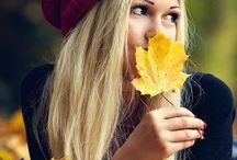 Осень девушки