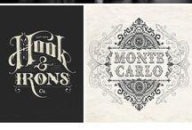 Vintage, Romantic Logos