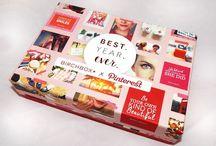 Birchbox January 2016 / This months Birchbox X Pinterest box! Blog post about it here http://www.gemsupnorth.co.uk/2016/01/birchbox-x-pinterest-best-year-ever.html