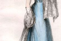 Historical clothing: 1820s