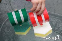 Výrobky - Lodě / Nápady na výrobky, tvoření, malování a hraní s loděma pro malé děti