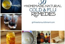 natural cold and flu recipes