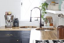Kitchen/Dining Reno / Ideas and Inspiration for my Kitchen Reno 2015 / by Heather Jones
