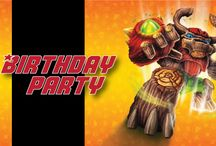 Skylanders Birthday Party / Skylanders Birthday Party Stuff