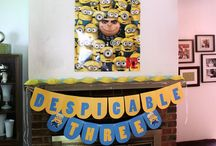 Minions themed party
