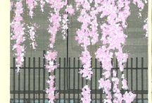 Kato Teruhide - Woodblock Print / Kato Teruhide - Woodblock Print Collections - Kyoto story-Colors of the four seasons