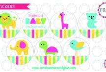 Plantillas para Baby shower / Descarga plantillas para baby shower esta super lindas!!!