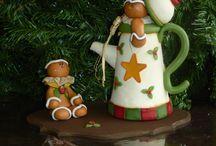 Porcelana en frío Country / Navidad