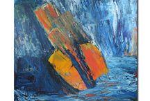 B. Priewe / aktuelle Bilder in Acryl der Künstlerin Barbara Priewe