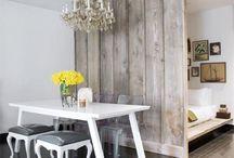 Tiny furniture / Studio apartment ideas designs for small spaces