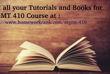 MGMT 410 Study material for Devry Univercsity