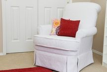 Couch covers & re-upholstering / by Diana Islas