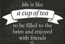 Tea makes me happy