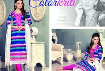 Colorkriti / Cotton and colorful, these two words describe the latest range of beautiful EthnicSets from BlueKurta. Ideal for a casual or formal occasion and with an average price tag of INR 1460, this range is sure to leave an impression at your hearts, Discover more at http://www.bluekurta.com/index.php?route=product/search&filter_name=WESb611090