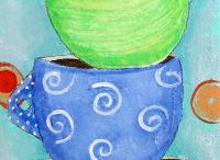 Lisa Cornish - Tea Cups