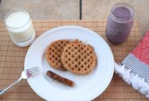 Breakfast Recipes / Don't rush out of the house before breakfast! These delicious breakfast recipes are the perfect thing to fuel your family.  / by Hip Mama's Place