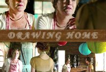 Drawing Home / A feature film about the lives of Catharine and Peter Whyte, artists from Banff, Alberta known for their landscape paintings of the Canadian Rockies. Starring Juan Riedinger, Kate Mulgrew, Peter Strauss, Torrance Coombs, Kristin Griffith, Christian Campbell, with Rutger Hauer and Wallace Shawn, and introducing Julie Lynn Mortensen as Catharine