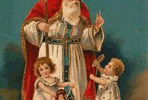 Nostalgische Sint Nicolaasafbeeldingen