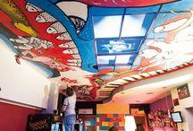 art mural design / dipinti su parete per ogni ambiente... locali, appartamenti, scuole...