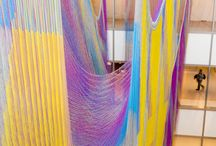 Jaw-dropping design / Fiber and other materials used in surprising ways