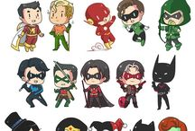 Villains and Super Heroes