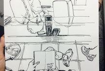 Gaichoi diary sketch mywork | jurnal