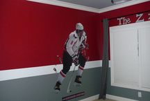 Hockey bedroom