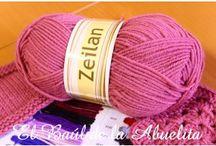 El Baúl  - Lanas / Variedad de lanas que podéis encontrar en nuestra tienda