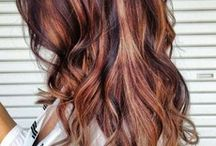 hair color/cut styles / by Emily Chen