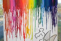 Craft - Crayon Art