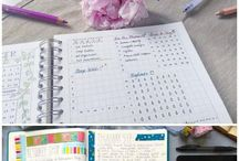 Bullet Journaling Ideas / A place to gather ideas, inspiration, plans for a bullet journal. The bullet journal organize my large family.